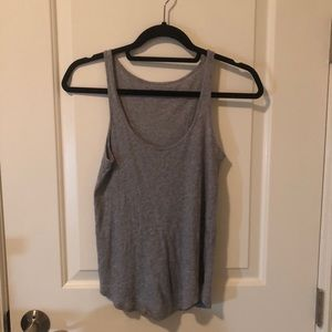 Gray Basic Tank Top